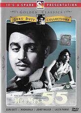 MR & MRS 55 - GURU DUTT - MADHUBALA - NEW BOLLYWOOD SPARK DVD - FREE POST UK