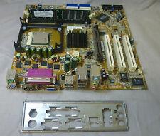 FIC vi39c vi39c-l Scheda Madre Socket 478 completa con piastra di I/O CPU & RAM