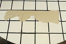 "Stunning ""Country Inn"" Beige Scrap Leather Hide Approx. 4 sqft. Q4Z10-7"