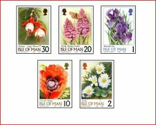 IOM9807 Flowering flowers 5 stamps MNH ISLE OF MAN 1998