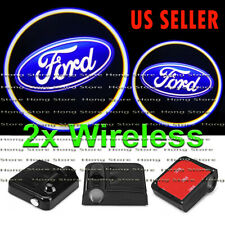 2x Wireless FORD Ghost Shadow Projector Laser LED Courtesy Door Step Lights