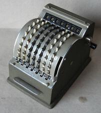 Antike große Deutsche Desktop mechanische gezahnte-Rad Rechner Summira 7 1950s