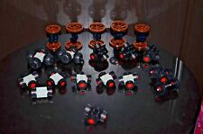 Lego Wheels Vehicle Parts Car Truck Tires & Rim Sets WAGON WHEELS AUTHENTIC!!