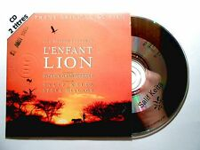 CD SINGLE B.O. FILM ▓ LUC BESSON : L'ENFANT LION ( SALIF KAITA & STEVE HILLAGE )