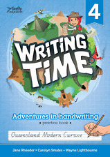 Writing Time Qld Ed Student Practice Book 4....Great for extra practice at home!