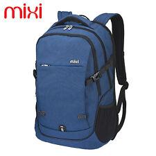 Mixi 20'' Blue Laptop Backpack School Bag Travel Pack Sports Bag