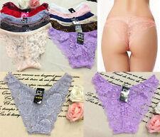 Women's Girls Underwear Panties Briefs Bikini Knickers Lingerie G-string Thong