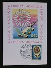 MONACO MK 1964 EUROPA CEPT MAXIMUMKARTE CARTE MAXIMUM CARD MC CM c6550