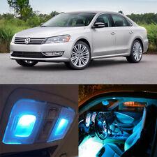 16pcs Ice blue Error free Interior LED Light Kit for VW Passat B7(2012-2014)