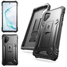 Galaxy Note 10 Case Poetic [Revolution] Full-body Rugged Shockproof Cover Black