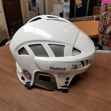 Reebok 7K Senior Ice Hockey Helmet White/Silver Size Small New W/O Tag Free Ship