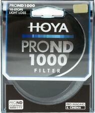 Hoya 58mm 58 Mm Pro Nd1000 ndx1000 ACCU-ND Multi-coated Filtro de Densidad Neutra
