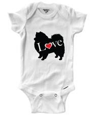 German Spitz Eskie Dog Eskimo Infant Baby Gerber Onesies Bodysuit One-Pieces