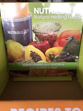 NutriBullet Natural Healing Foods Book Brand New