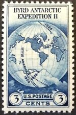 1933 3c Byrd Expedition commemorative single, Scott #733, MNH, VF, Gum rubs