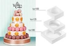 Stampo kit torta 3 piani silicone Silikomart stampi my wonder cake classic Rotex