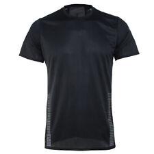 Adidas 25/7 Run Training Top Men's Short Shirts Football Jersey Black Ei6321