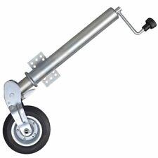 vidaXL 60 mm Roue jockey pliante acier galvanisé pour remorque caravane portable