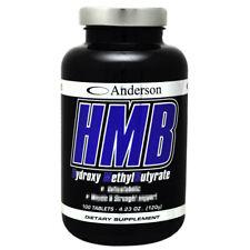 Anderson HMB 100 cpr Aminoacido Anticabolico Calcio Beta Idrossimetilbutirrato