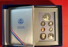 1986-S U.S. Prestige Proof Set +**Statue of Liberty Silver Dollar**7 Coins**