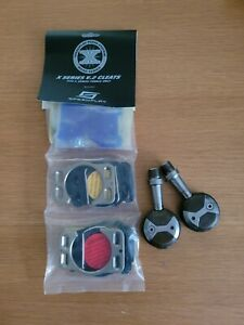 Speedplay X2 Stainless Road Pedals with New Cleats