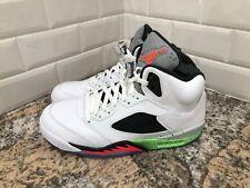 Nike Air Jordan 5 Retro Poison Men Pro Star Space Jam 136027-115 SZ 10