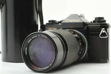 [Excellent+++] Canon EF SLR 35mm Film Camera + FD 200mm 4 S.S.C from Japan