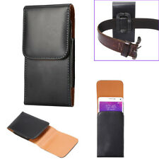 Mobile Belt Case Universal Leather Belt Clip Phone Pouch Bag For Samsung Iphone