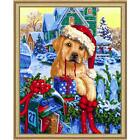 Wizardi Christmas Mail Kit & Frame Paint-by-Number Kit