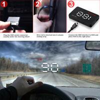 Système d'alerte de vitesse OBD2 d'affichage tête haute de Digital HUD de