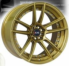 """18"""" NEW XXR969 GOLD NEW WHEELS AND TYRES XXR GOLD STRETCHED WHEELS"""