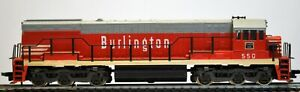 RIVAROSSI HO Scale U25C BURLINGTON  Diesel Locomotive #550