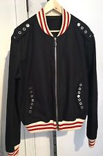 Gucci Size 2XL Men's Black Bomber Jacket Coat 56 IT