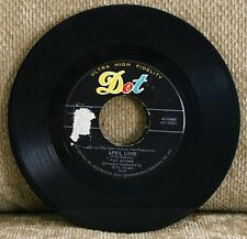 Pat Boone...When The Swallows Come Back To Capistrano..DOT Rec...45 RPM..VG