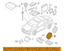 VW VOLKSWAGEN OEM 07-16 Eos Stereo Audio Radio-Door Speaker 1Q0035454