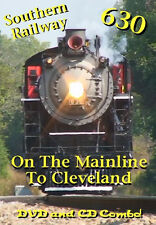 Railroad DVD: Southern Railway 630 On The Mainline Without Diesels
