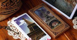 Landscape Bookmarks, Memo Cards 24 Card Set, 1 Packet, London, Paris, Eiffel Etc