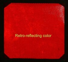 """8 inch Wide Red High Intensive REFLECTIVE TAPE 6""""X8"""""""