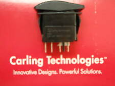 NAVIGATION ANCHOR LIGHT SWITCH CARLING VJD1G ON/OFF/ON CONTURA III BLK RED LENS