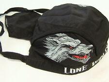 """LONE WOLF - NO CLUB""  HEADWRAP with sewn in sweatband, lightweight,  # HWH1041"