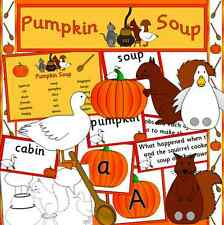 Pumpkin Soup story teaching resource on CD- Autumn, Halloween, EYFS, KS1