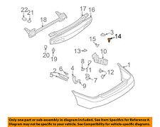 SUBARU OEM 02-09 Legacy Rear Bumper-Retainer Bracket 59122PA010