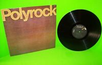 Polyrock ‎Self Titled Vinyl LP Record Album 1980 New Wave Synth-Pop Art Rock NM