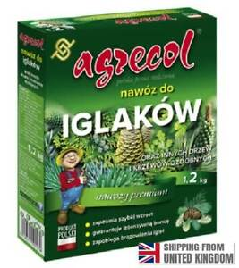 Fertilizer For Conifers And Other Acidophilic Plants, 1.2 kg, AGRECOL