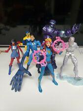 Marvel Legends Lot Loose 6 Figures Fantastic 4 Ice Man Spy Master Ms Marvel
