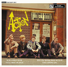 THE ACTION 'In My Lonely Room' CD EP mod 60s beat