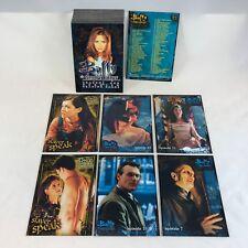 BUFFY THE VAMPIRE SLAYER SEASON 1 (1998) Complete Card Set SARAH MICHELLE GELLAR