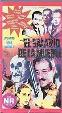 EL SALARIO DE LA MUERTE (VHS) Mexi Sleaze Trash!