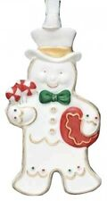 Wedgwood Gingerbread Perfect Man Ornament New In Box