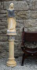 The TUDOR GATE Veronica, the Saint of photographers. Farran stone Gothic Statue